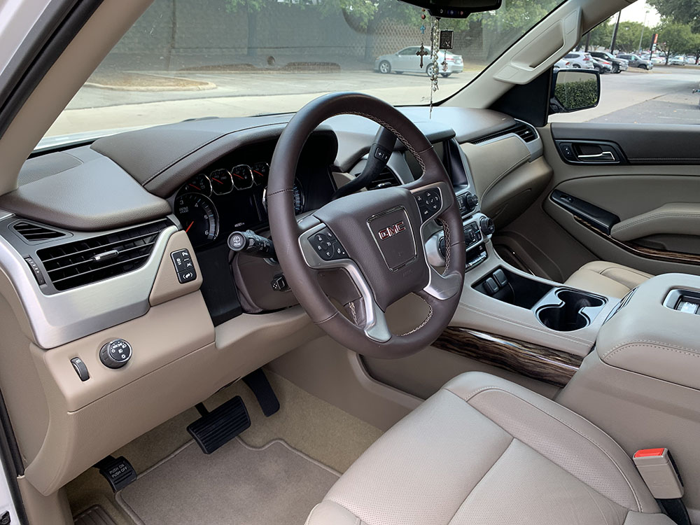 Interior Detailing on a GMC